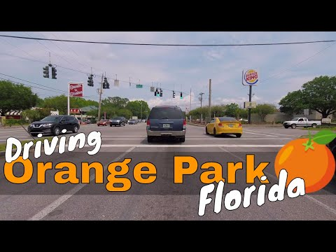 Driving Orange Park Florida Jacksonville