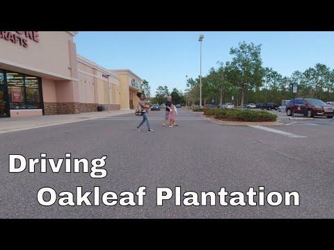 Driving Oakleaf Plantation Jacksonville Florida