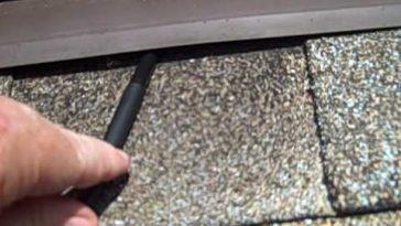Orange Park Florida Home Inspection finds source of roof leak