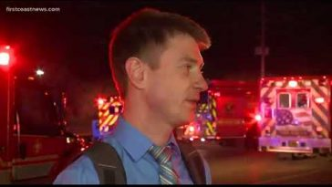 Up to 10 families displaced following large fire at Orange Park apartment complex