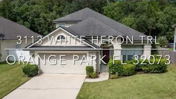 3113 White Heron Trl, Orange Park, FL – Video Tour by Matt Berrang